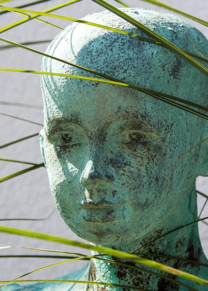 Details einer Skulptur von Ulrike Balkau
